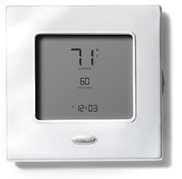 Carrier Controls and Thermostats - Edge White